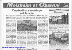 Guirbaden Ami Hebdo 20.09.2015