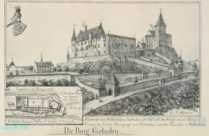 gravure du chateau