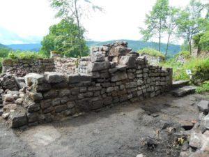 mur angle nord ouest après
