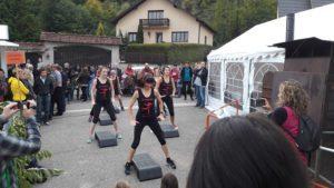 fitness avec l'équipe de Marie-Odile