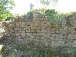 Mur Ouest des communs